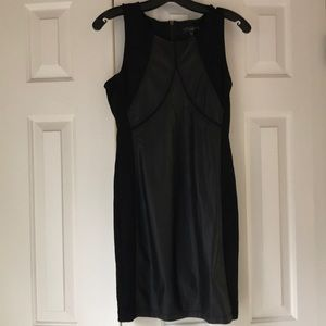 Black leather dress. Never been worn